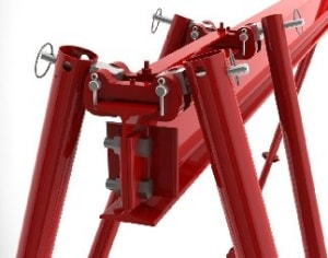 Jib, Tripod and Gantry Crane Accessories | Wallace Cranes