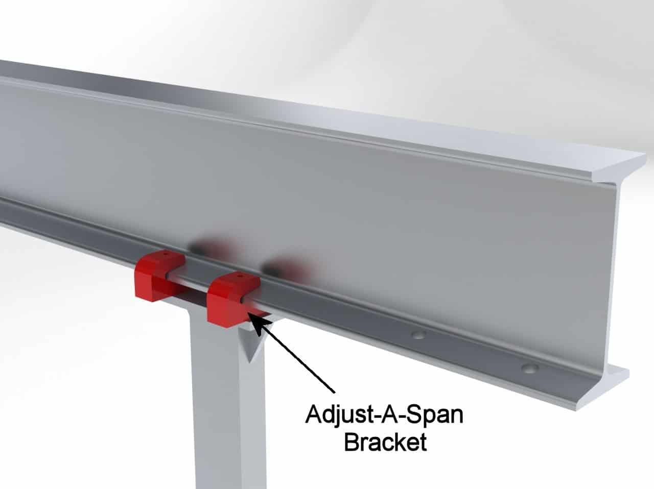 Adjustable Span Kit for Cranes | Wallace Cranes