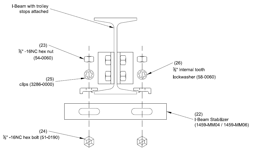 Mighty Mite I-Beam Diagram