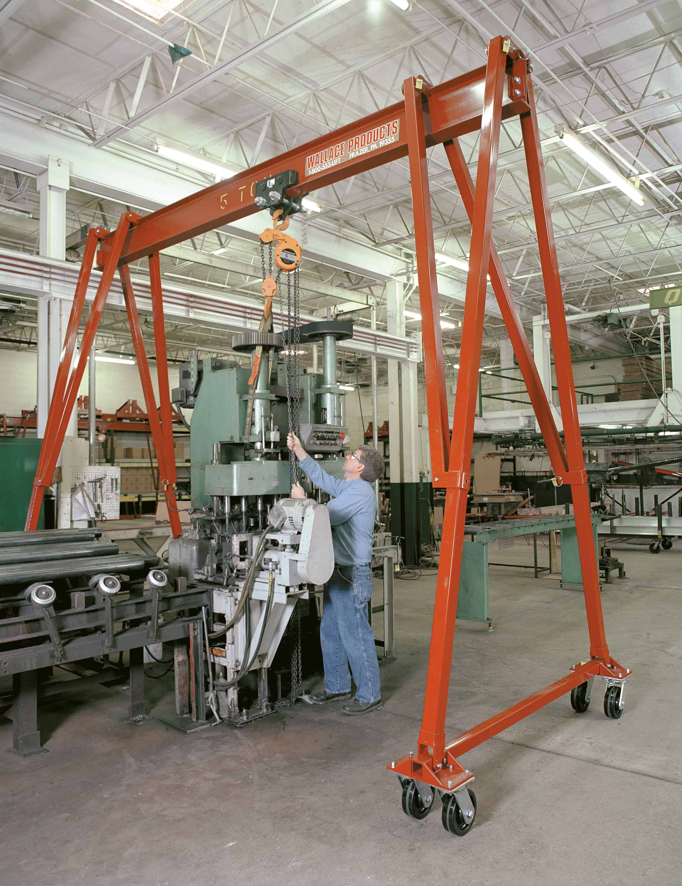 Overhead Bridge And Gantry Crane Manufacturer Wallace