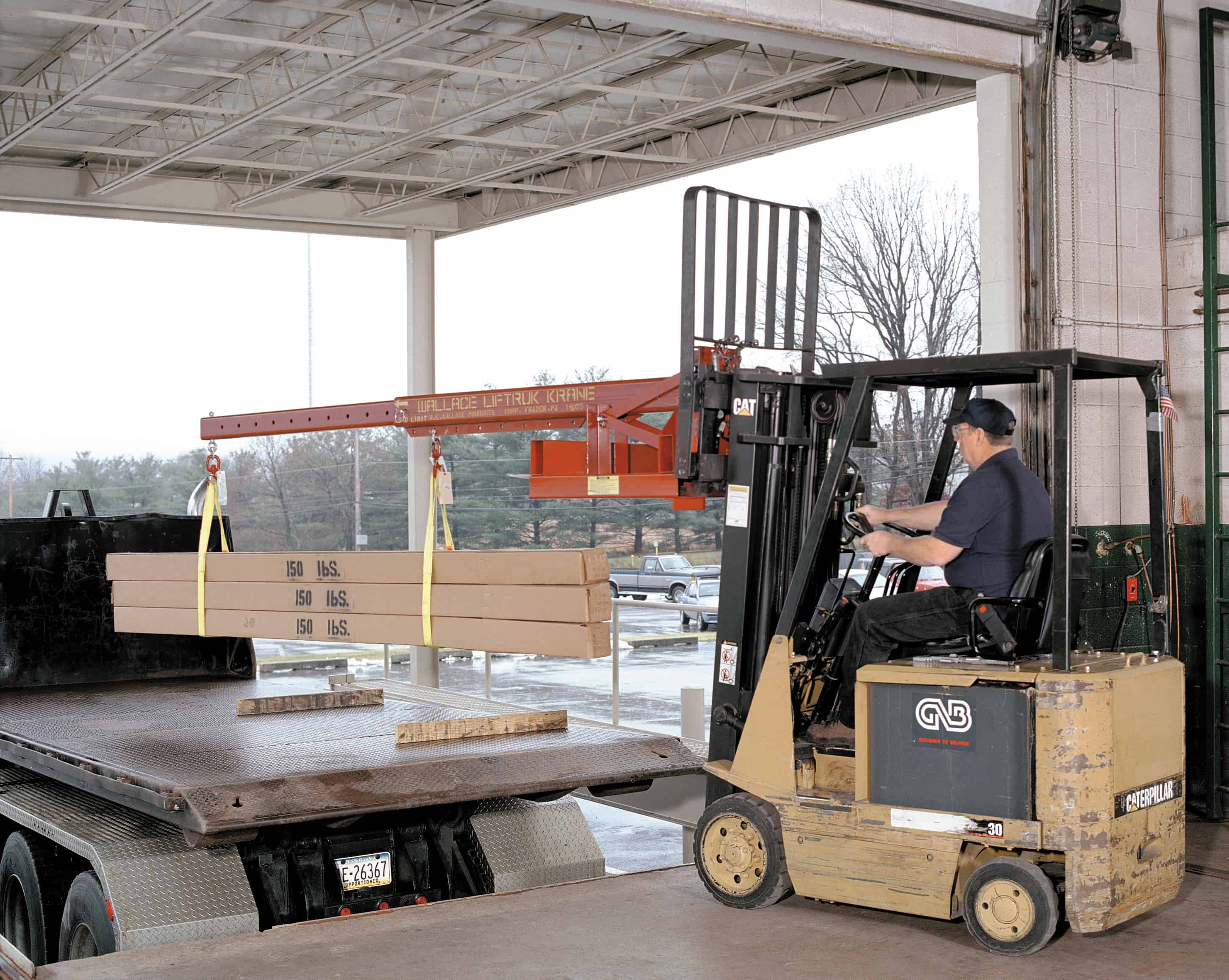Wallace Forklift Crane
