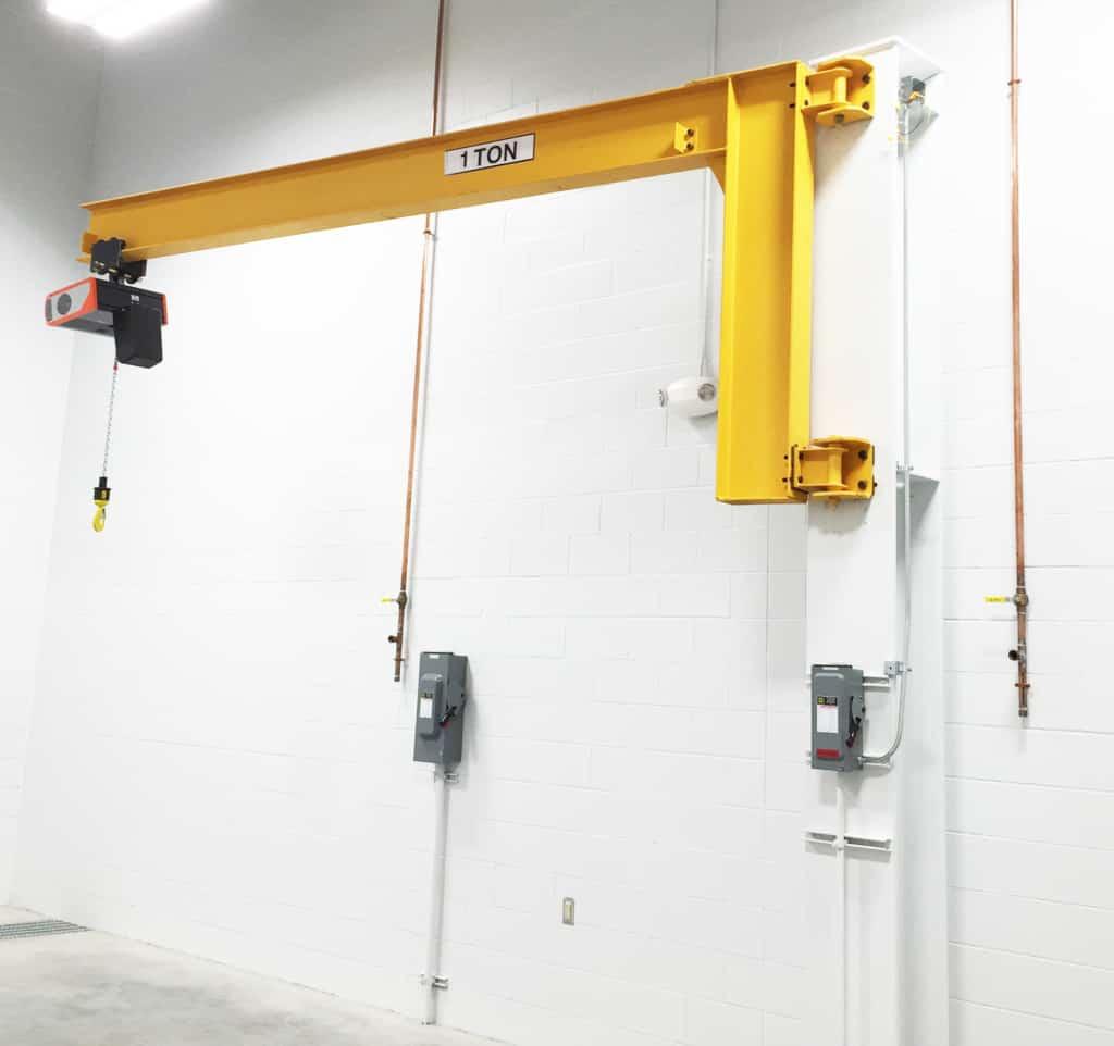 Wall-Bracket Cantilever Jib Crane | Wallace Cranes